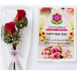 New Year Greetings to all Flower Lovers