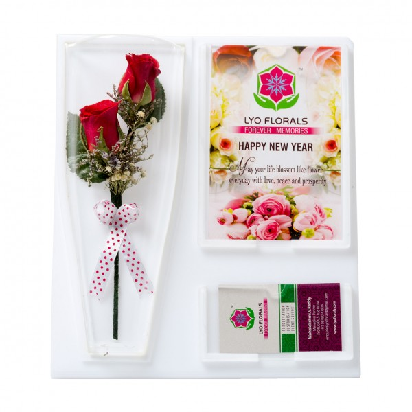 Bouquet –Twin Rose