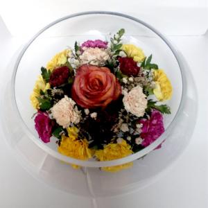 LF - Flowerbowl-Rose & Carnation